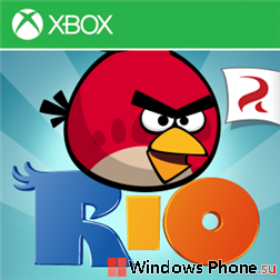Angry Birds Rio теперь для Windows Phone 7 и 8