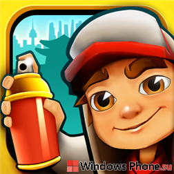 Скачать Subway Surf на Winows Phone 8