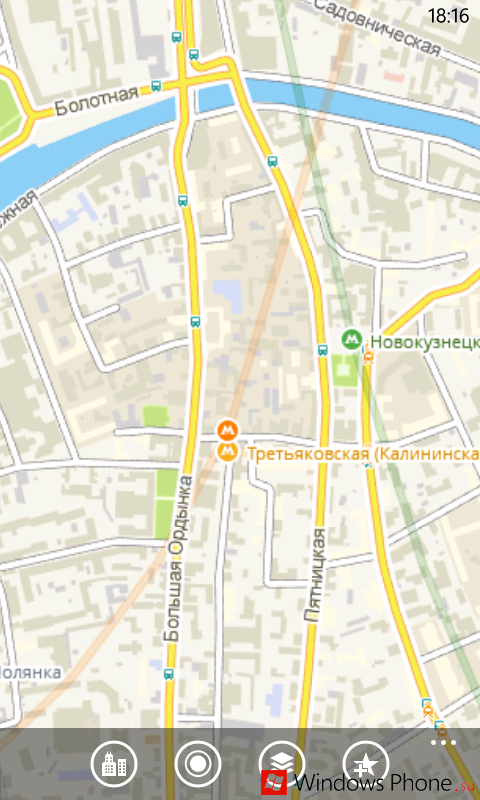 Город - аналог 2gis для Windows Phone